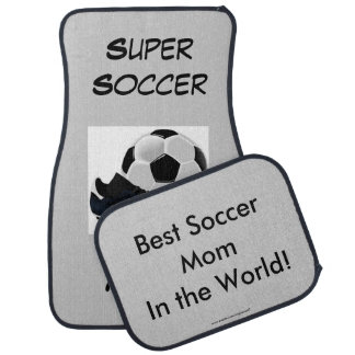 Super Soccer Mom Car Floor Mat