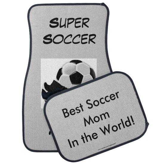 Super Soccer Mom Car Floor Mat