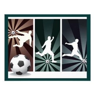 super-soccer personalized invite