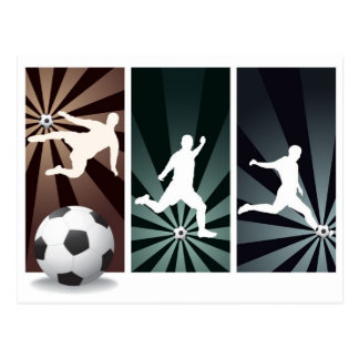 super-soccer postcard