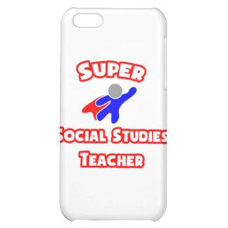 Super Social Studies Teacher Cover For iPhone 5C