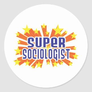 Super Sociologist Sticker
