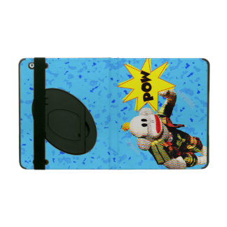 Super SockMonkey Hero iPad Folio Case