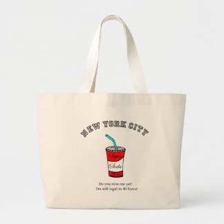 Super Soda 56 oz.  Do you miss me yet? Large Tote Bag