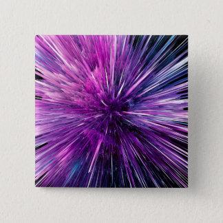 Super sonic - gorgeous purple pinback button
