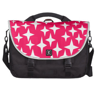 Super sonic star in pink. bags for laptop