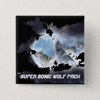 Super Sonic Wolf Pack Button