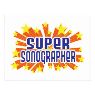 Super Sonographer Postcard