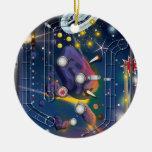 Super Space Pinball Machine Ornament