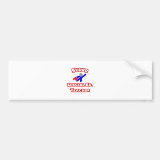 Super Special Ed. Teacher Bumper Sticker