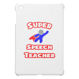 Super Speech Teacher iPad Mini Cover