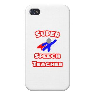 Super Speech Teacher iPhone 4 Covers