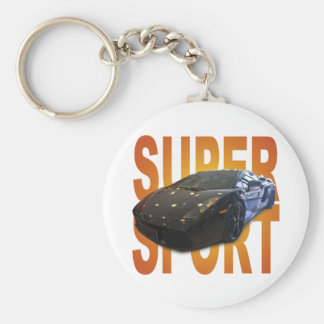 super sport car keychain