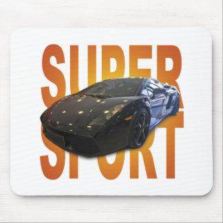 super sport car mouse pad