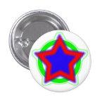 Super Star 1 Inch Round Button