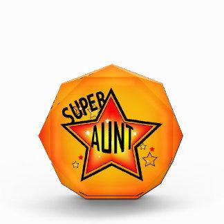 Super Star Aunt Acrylic Award