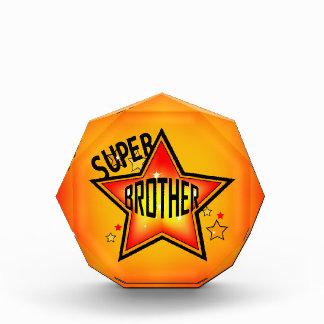 Super Star Brother Acrylic Award