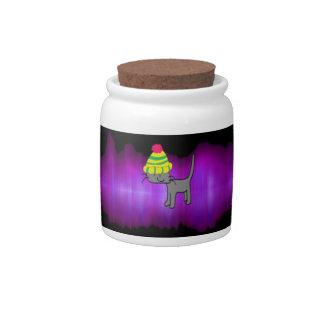 Super Star Cat Candy Jars