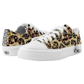Super Star Cheetah Abstract Printed Shoes