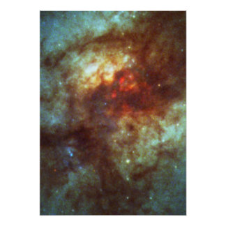 Super Star Clusters in Dust-Enshrouded Galaxy Poster