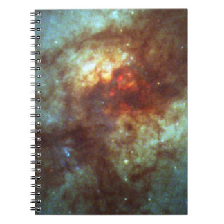 Super Star Clusters in Dust-Enshrouded Galaxy Spiral Notebook