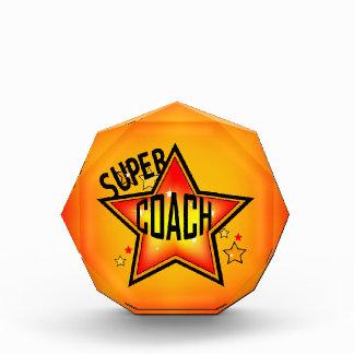 Super Star Coach Acrylic Award