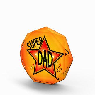 Super Star Dad Acrylic Award