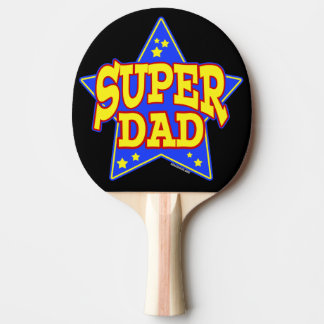 Super Star Dad Ping-Pong Paddle