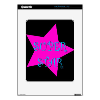 Super Star Decals For iPad