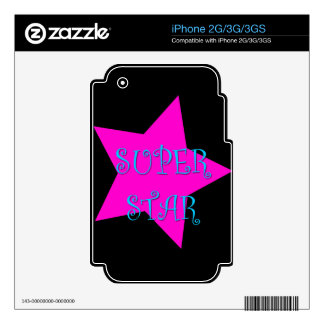 Super Star Decals For The iPhone 2G