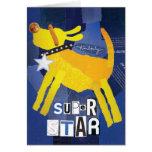 Super Star Greeting Card