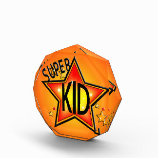 Super Star Kid Acrylic Award