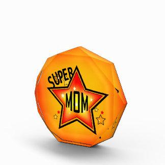 Super Star Mom Acrylic Award