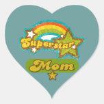 Super Star Mom Sticker