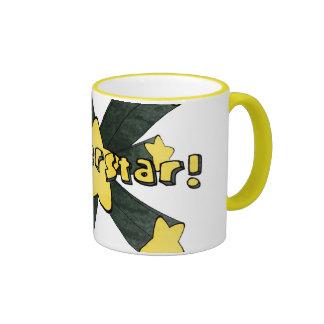 Super star coffee mug