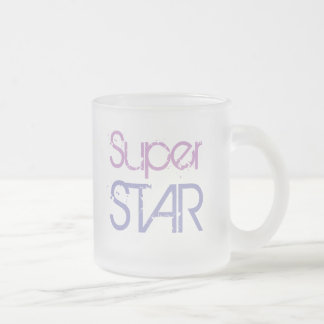 SUPER STAR mug (frosted glass)