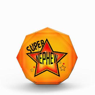 Super Star Nephew Acrylic Award