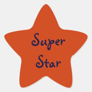 Super Star Reward Sticker
