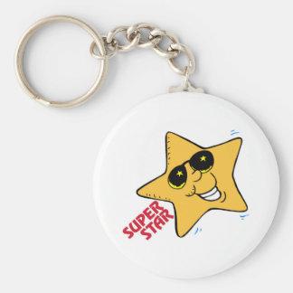 Super Star School Keychain