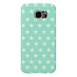 Super Star Sea Foam Green Samsung Galaxy S6 Case