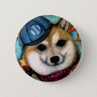 Super Star Shiba Inus Pinback Button