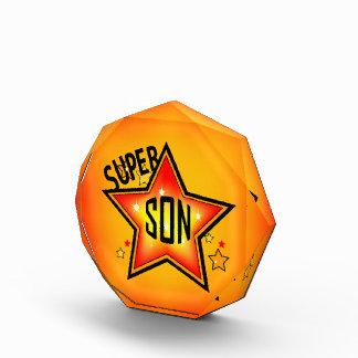 Super Star Son Acrylic Award
