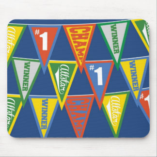 Super Star Sports Pennant Mouse Pad