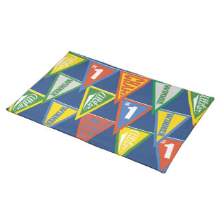 Super Star Sports Pennant Placemat