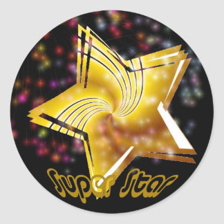 Super Star Sticker