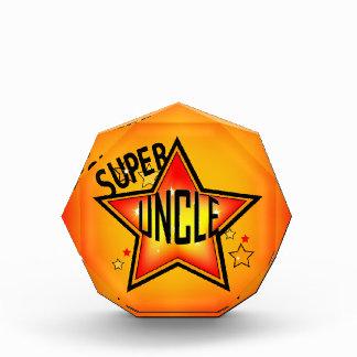 Super Star Uncle Acrylic Award