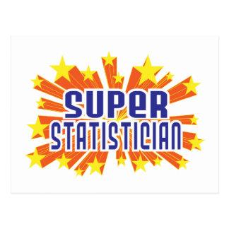 Super Statistician Postcard