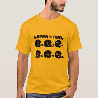 Super Steel football t-shirt