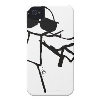 SUPER STICKMAN iPhone 4 COVER