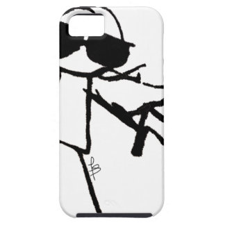 SUPER STICKMAN iPhone SE/5/5s CASE